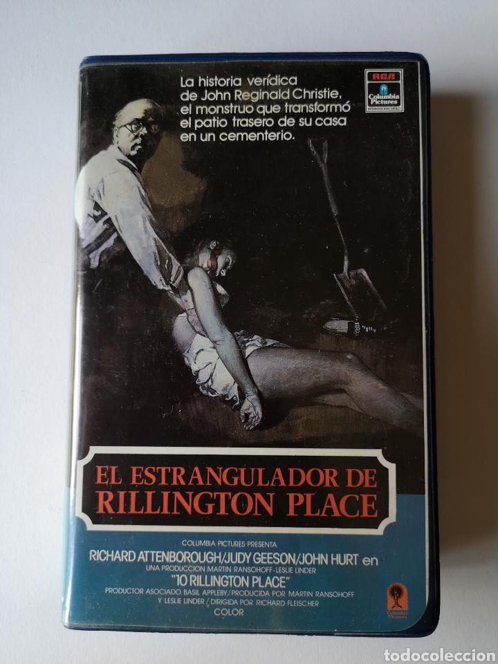 EL ESTRANGULADOR DE RILLINGTON PLACE CINE DE TERROR VHS (Cine - Películas - VHS)