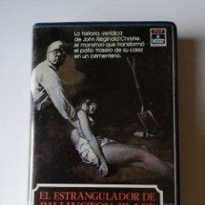 Cine: EL ESTRANGULADOR DE RILLINGTON PLACE CINE DE TERROR VHS. Lote 230528215