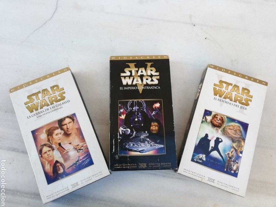 STARS WARS EP. IV-V-VI VHS (Cine - Películas - VHS)
