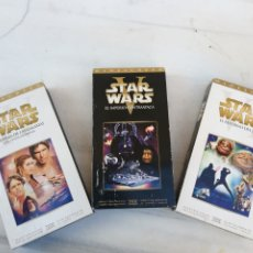 Cine: STARS WARS EP. IV-V-VI VHS. Lote 230550720