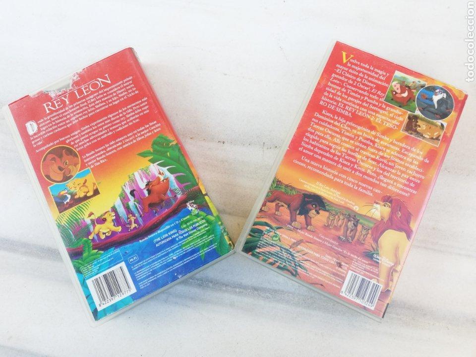 Cine: EL REY LEON 1 Y 2 VHS - Foto 2 - 230552540