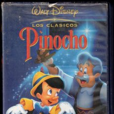 Cine: PINOCHO - WALT DISNEY - LOS CLASICOS - VHS. Lote 288690073