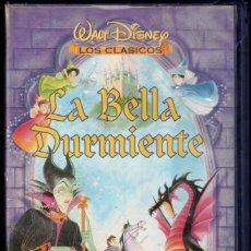 Cine: LA BELLA DURMIENTE - VHS - CLASICOS WALT DISNEY. Lote 288690188