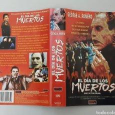 Cine: CARATULA VHS - EL DIA DE LOS MUERTOS - MANGA FILMS. Lote 230792480