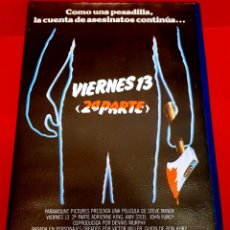 Cine: VIERNES 13. 2ª PARTE (1981) - FRIDAY THE 13TH, PART 2 C&C VIDEO. Lote 230932615