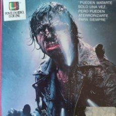 Cine: LOS VIAJEROS DE LA NOCHE. CINE DE TERROR VHS. Lote 230990560