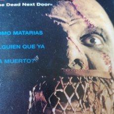 Cine: MONDO ZOMBIE. CINE DE TERROR VHS. Lote 231002015