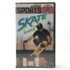 Cine: SKATE BOARD PRECINTADA BAN THIS EDICION ESPAÑOLA CAMPEONES DEL MUNDO SPORT OLD SCHOOL SKATEBOARD VHS. Lote 231285915