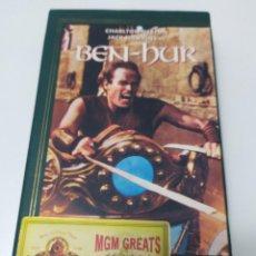 Cine: PELICULA VHS BEN HUR - EDICION ESPECIAL. Lote 231349940