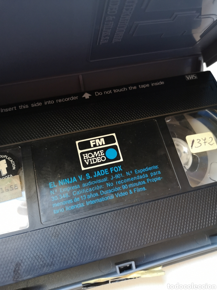 Cine: NINJA VS JADE FOX CINE ARTES MARCIALES VHS - Foto 3 - 231597175