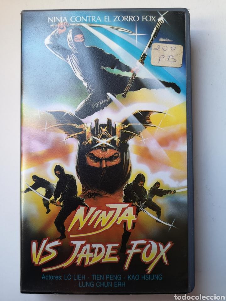 NINJA VS JADE FOX CINE ARTES MARCIALES VHS (Cine - Películas - VHS)