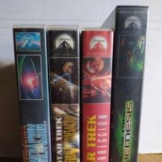 Cine: STAR TREK, LOTE 4 VHS, LAS 4 PELÍCULAS DE LA NUEVA GENERACIÓN.. Lote 231832265