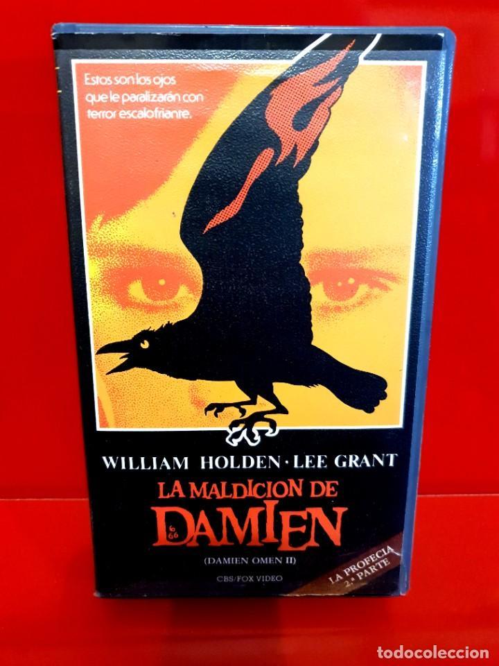 LA MALDICIÓN DE DAMIEN (1978) - LA PROFECÍA 2 - 1ª EDICIÓN (Cine - Películas - VHS)