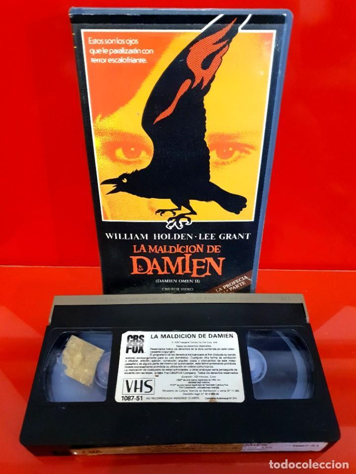 Cine: LA MALDICIÓN DE DAMIEN (1978) - La profecía 2 - 1ª EDICIÓN - Foto 3 - 232386320