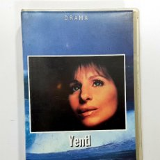Cine: YENTL - WARNER - BARBRA STREISAND - VHS. Lote 232702545