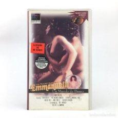 Cine: EMMANUELLE UN MUNDO DE DESEO LAS NUEVAS AVENTURAS DE KRISTA ALLEN PAUL MICHAEL ROBINSON KIMBERLY VHS. Lote 232751130