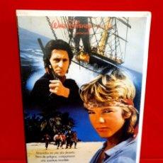 Cine: NAUFRAGOS (1990) - STIAN SMESTAD, GABRIEL BYRNE, LOUISA MILLWOOD-HAIGH - 1ª EDIC. WALT DISNEY. Lote 233018610