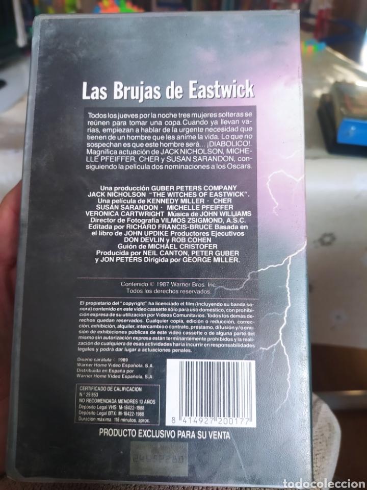 Cine: VHS Las brujas de Eastwick - Foto 2 - 234901685