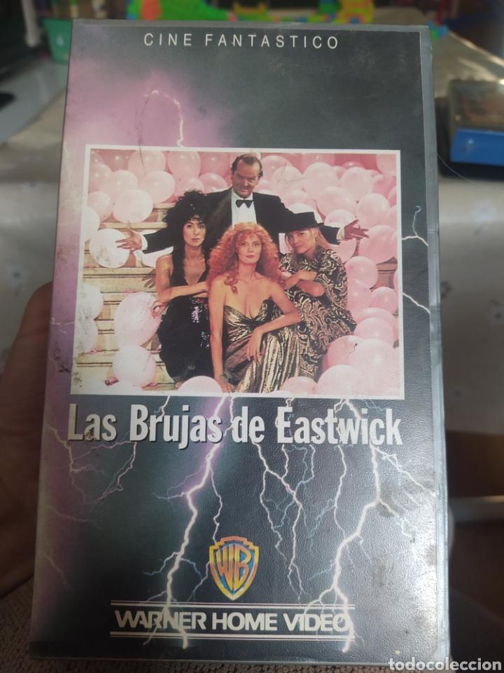 VHS LAS BRUJAS DE EASTWICK (Cine - Películas - VHS)