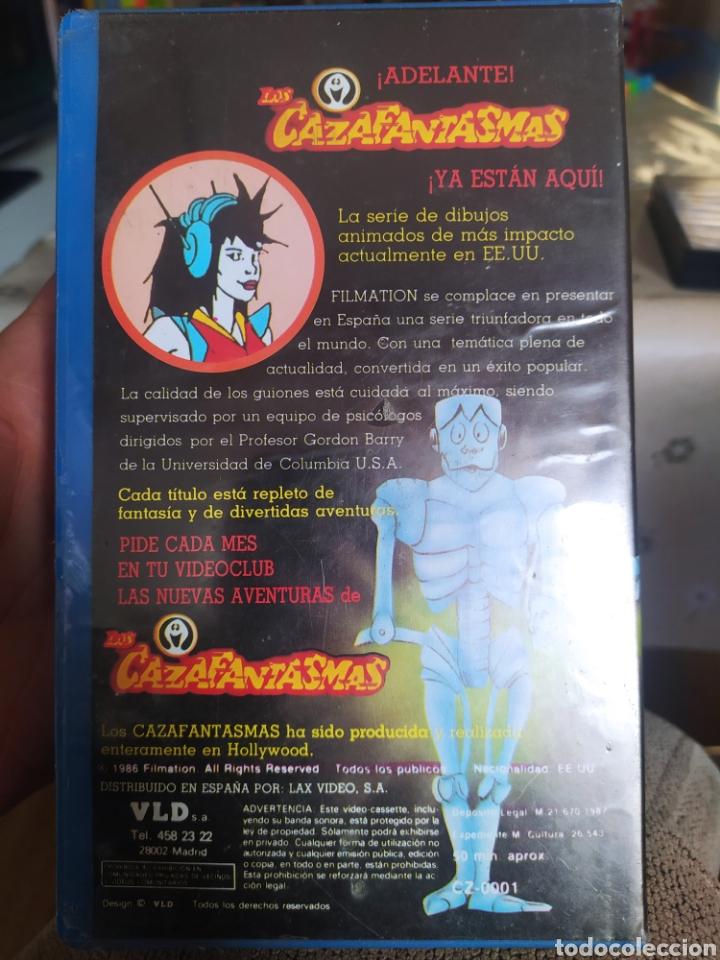 Cine: VHS los Cazafantasmas n°3 - Foto 2 - 234902850