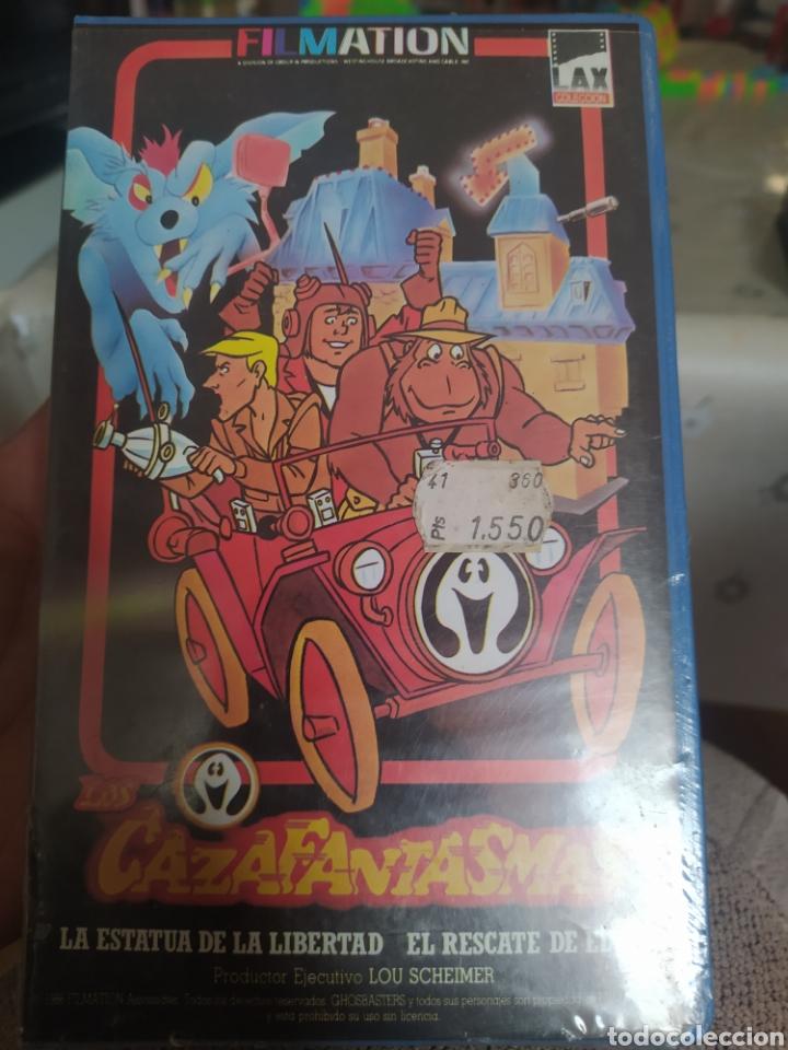 VHS LOS CAZAFANTASMAS N°3 (Cine - Películas - VHS)