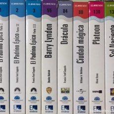 Cine: LOTE 10 PELICULAS VHS TRILOGIA EL PADRINO 1 2 3 FRANCIS FORD COPPOLA DRACULA BARRY LYNDON PRECINTADO. Lote 235288205