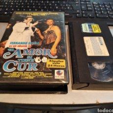 Cine: VHS - EL AMOR SI TIENE CURA - FERNANDO ESTESO, ESPERANZA ROY, JAVIER AGUIRRE. Lote 235365125