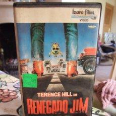 Cine: RENEGADO JIM - ENZO BARBONI - TERENCE HILL , ROBERT VAUGHN - IZARO 1989. Lote 235365235