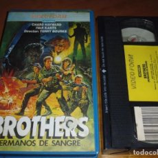 Cine: BROTHERS . HERMANOS DE SANGRE - TERRY BOURKE - VHS. Lote 235461230
