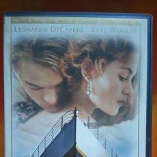 Cine: TITANIC - LEONARDO DICAPRIO, KATE WINSLET - 1998 - VHS. Lote 235513745