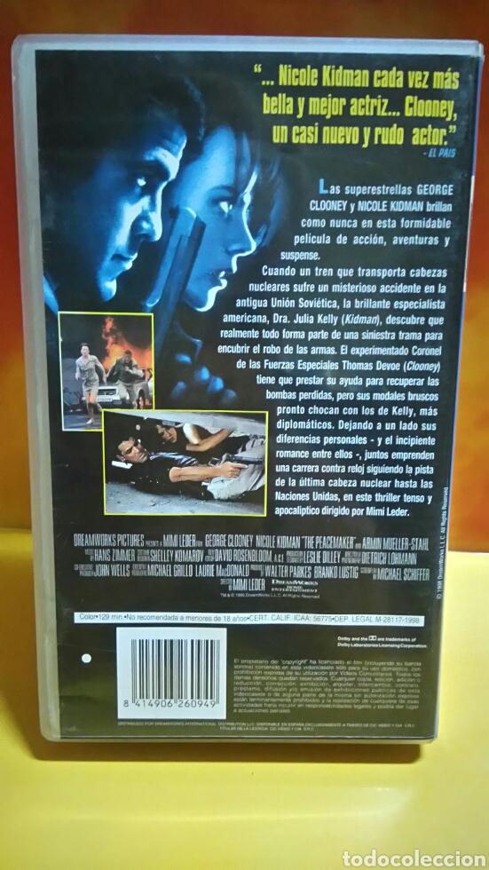 Cine: EL PACIFICADOR - VHS - Foto 3 - 235611980
