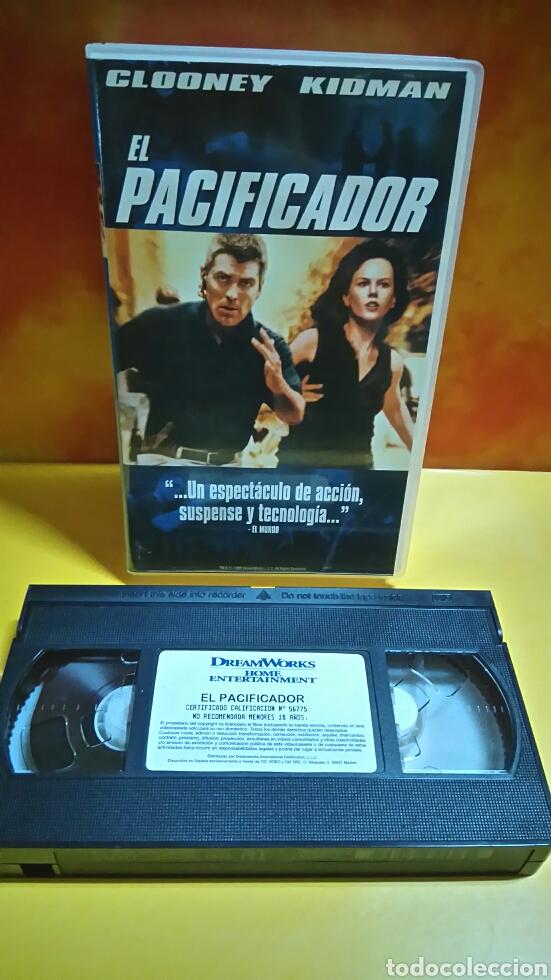 Cine: EL PACIFICADOR - VHS - Foto 4 - 235611980