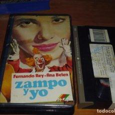Cine: ZAMPO Y YO - ANA BELEN, FERNANDO REY - VHS. Lote 236107550