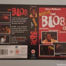 Cine: CARATULA VHS - THE BLOB LA MASA DEVORADORA. Lote 236373565