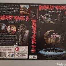 Cine: CARATULA VHS - BASKET CASE 3. Lote 236373715