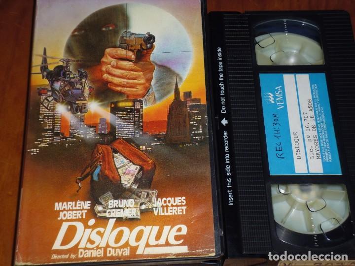 DISLOQUE - DANIEL DUVAL, BRUNO CREMER, MARLÉNE JOBERT, JACQUES VILLERET - VEMSA - VHS (Cine - Películas - VHS)