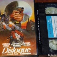 Cine: DISLOQUE - DANIEL DUVAL - VEMSA - VHS. Lote 236769935