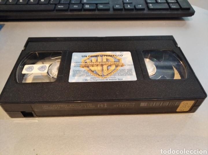 Cine: VHS- Un crimen perfecto- Michael Douglas - Foto 2 - 236770080