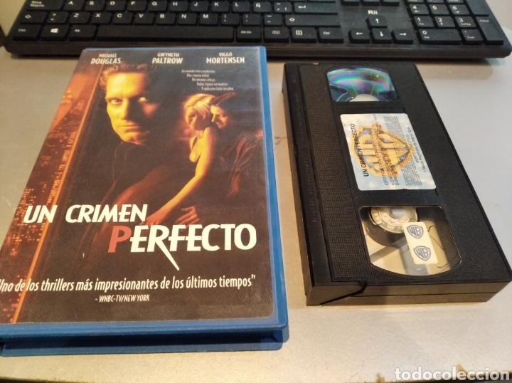 VHS- UN CRIMEN PERFECTO- MICHAEL DOUGLAS (Cine - Películas - VHS)