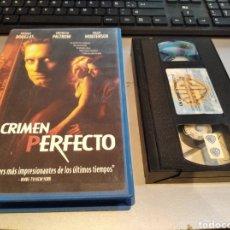 Cine: VHS- UN CRIMEN PERFECTO- MICHAEL DOUGLAS. Lote 236770080