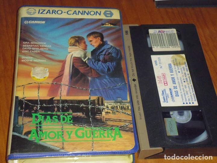 DIAS DE AMOR Y GUERRA - ERIC FABER - IZARO CANNON CAJA GRANDE - VHS (Cine - Películas - VHS)
