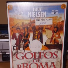 Cine: GOLFOS DE BROMA VHS LESLIE NIELSEN VHS. Lote 236770235