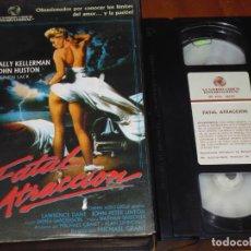 Cine: FATAL ATRACCION - SALLY KELLERMAN, JOHN HUSTON, STEPHEN LACK - THRILLER - SUSPENSE - EROTISMO - VHS. Lote 236770425