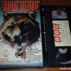 Cine: MAD DEATH . LA RABIA HA LLEGADO A LA CIUDAD - ROBERT YOUNG, RICHARD HEFFER - TERROR - VHS. Lote 236773300
