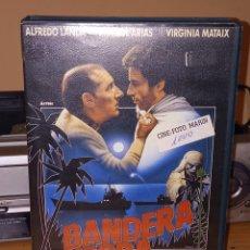 Cine: BANDERA NEGRA VHS ALFREDO LANDA,IMANOL ARIAS. Lote 236773605
