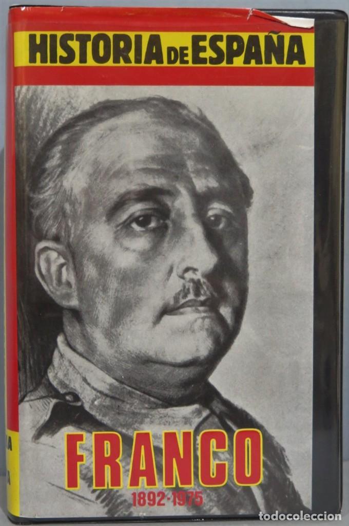 VHS. FRANCO. HISTORIA DE ESPAÑA (Cine - Películas - VHS)