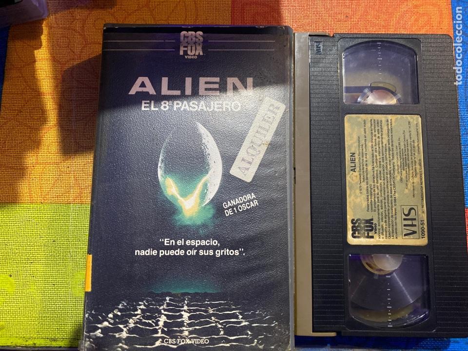 ALÍEN VHS PRIMERA EDICIÓN ÚNICA .DIFÍCIL DE ENCONTRAR EN ESTE ESTADO (Cine - Películas - VHS)