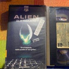 Cine: ALÍEN VHS PRIMERA EDICIÓN ÚNICA .DIFÍCIL DE ENCONTRAR. Lote 236979725