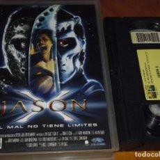 Cine: JASON X. EL MAL NO TIENE LIMITES - VIERNES 13 - TERROR - VHS. Lote 237075095