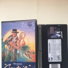 Cine: COCODRILO DUNDEE - VHS. Lote 237518670